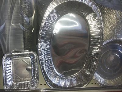 خرید ظروف یکبار مصرف آلومینیوم