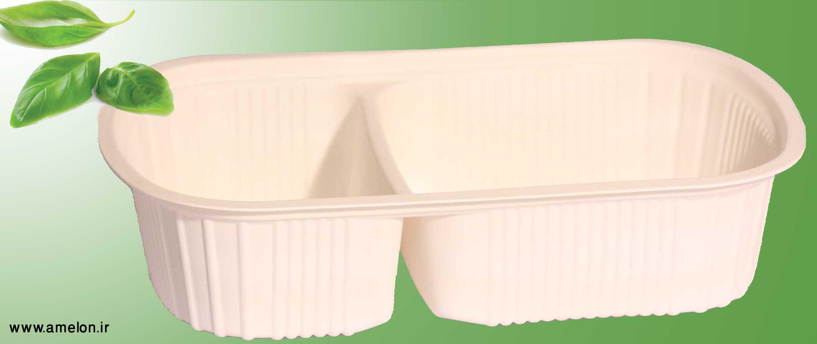 فروش عمده ظروف یکبار مصرف گیاهی