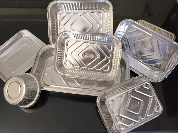 بورس ظروف یکبار مصرف آلومینیومی