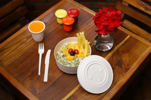 ظروف یکبار مصرف گیاهی در شیراز