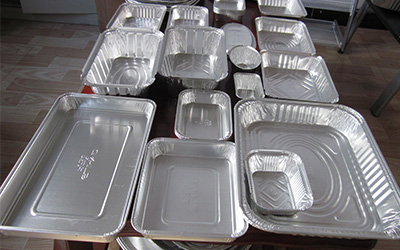 ظروف یکبار مصرف آلومینیومی تهران