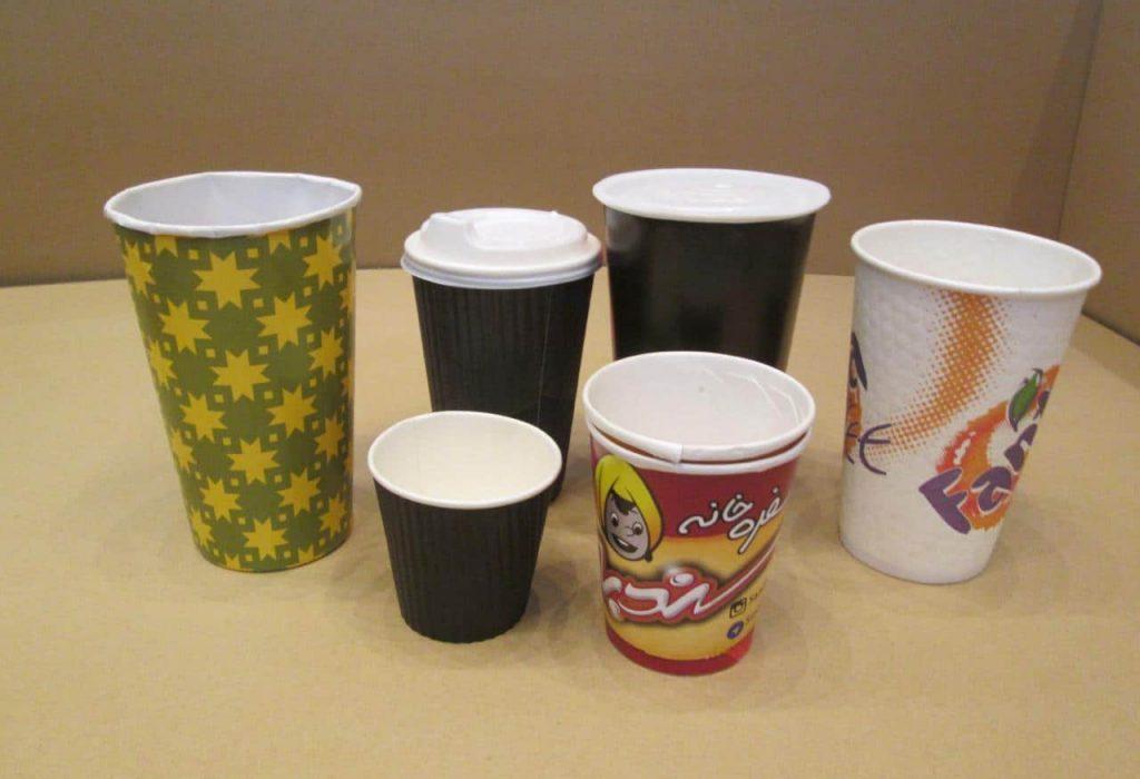 تولید لیوان کاغذی دوجداره