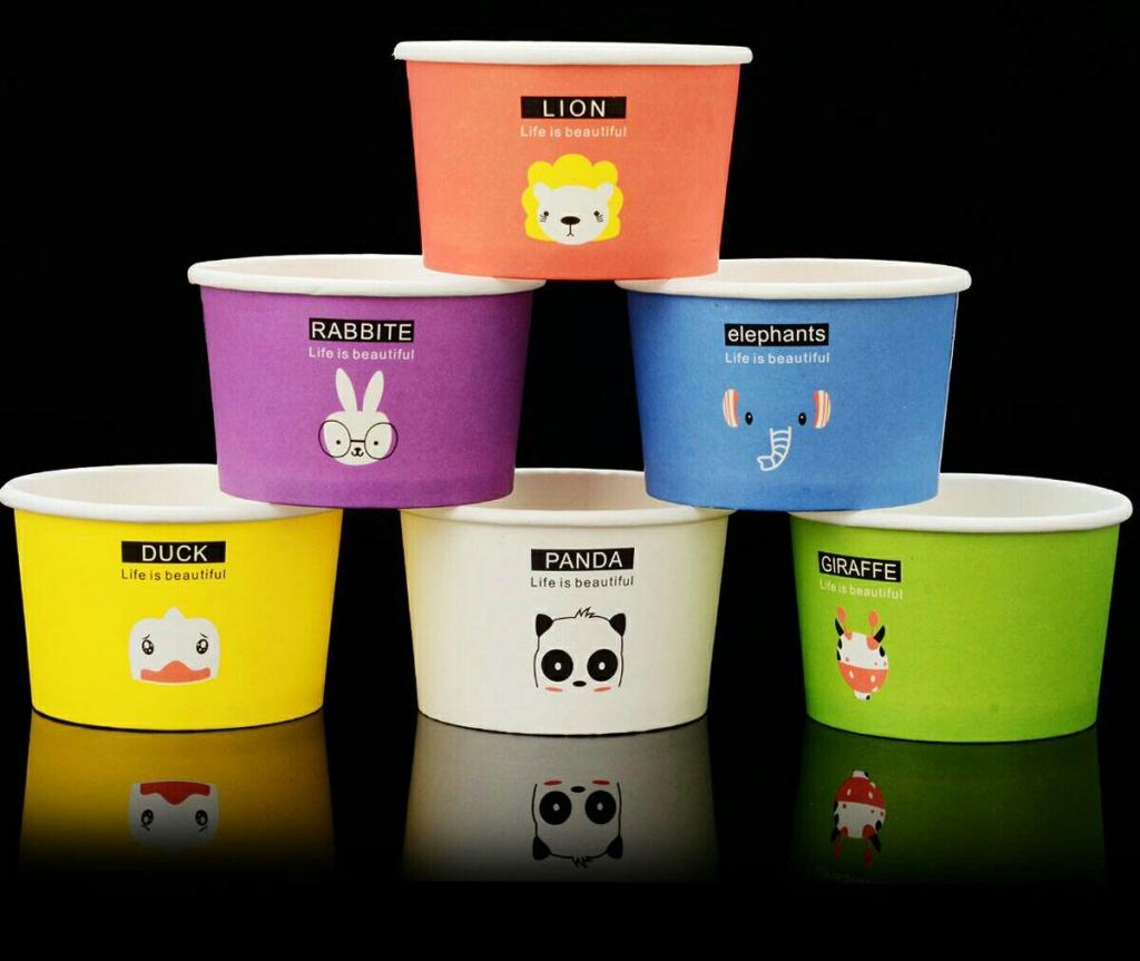 ظروف یکبار مصرف بستنی