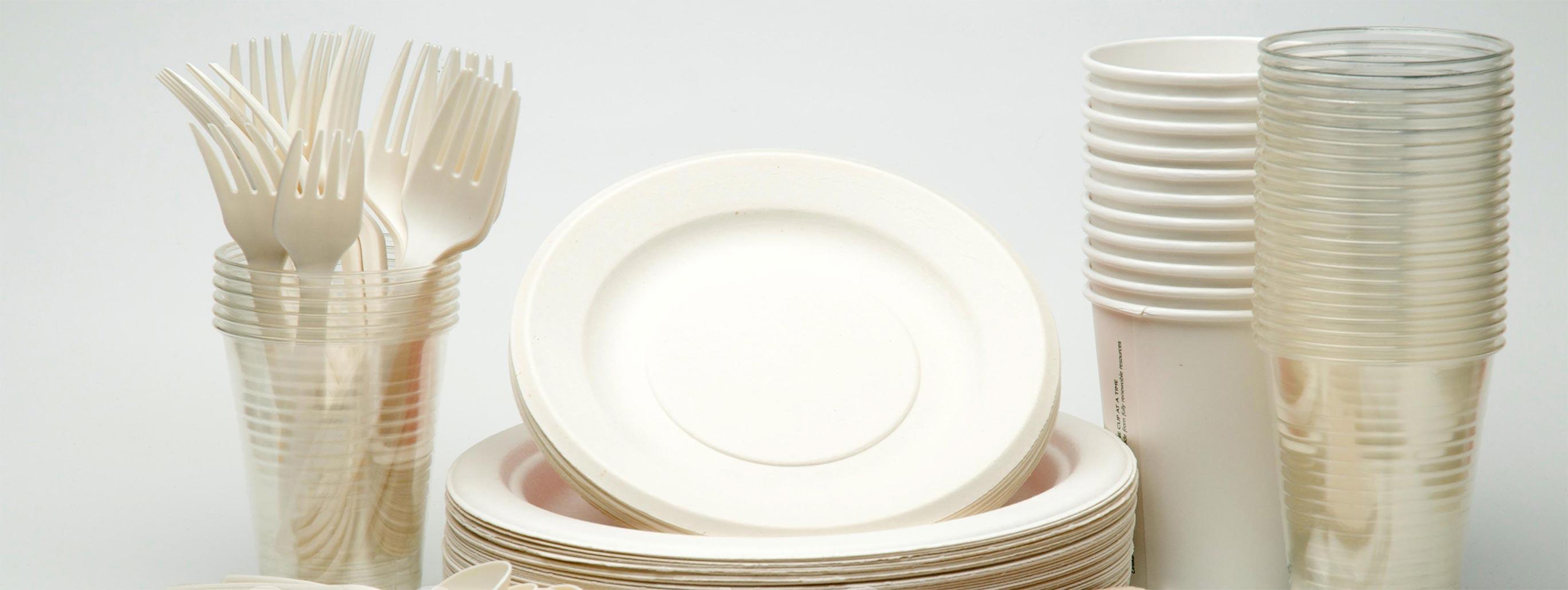 فروشندگان ظروف یکبار مصرف گیاهی