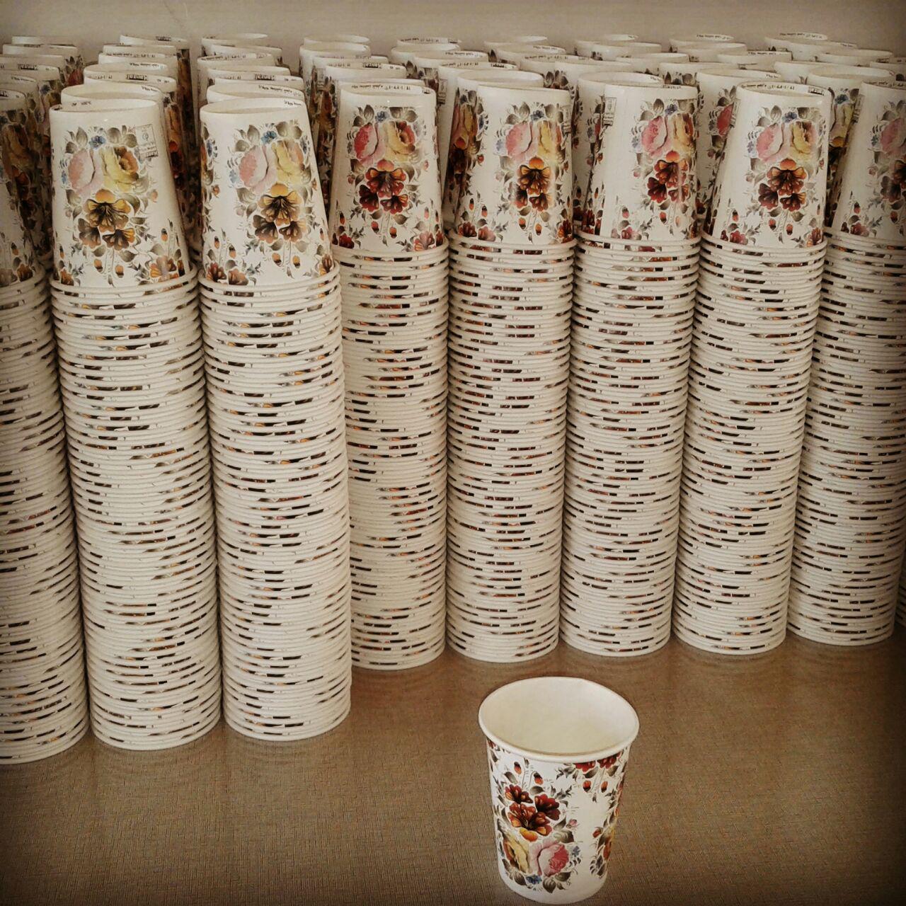 قیمت لیوان کاغذی 180 سی سی