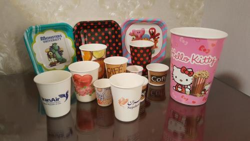 پخش ظروف یکبار مصرف کاغذی