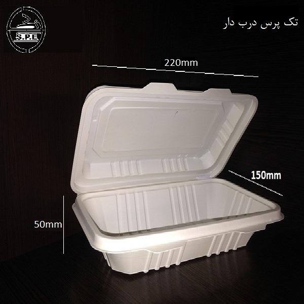 صادرات ظروف یکبار مصرف گیاهی