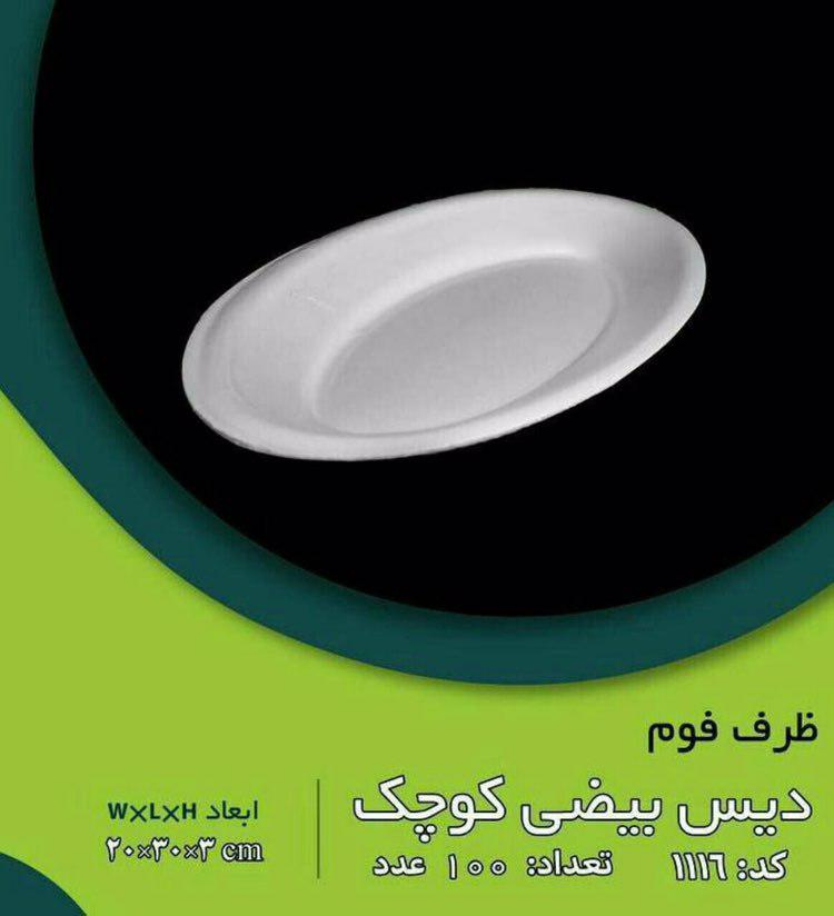 ظروف یکبار مصرف فوم امیرکو