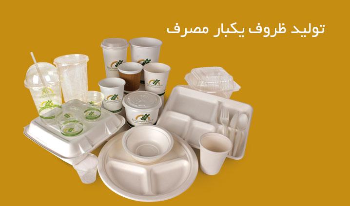 فروش عمده ظروف یکبار مصرف در تهران