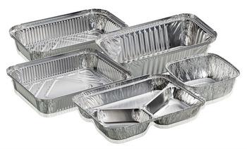 ظروف یکبار مصرف آلومینیومی درب دار