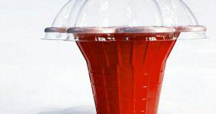 لیوان یکبار مصرف درب دار