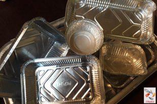 ظروف یکبار مصرف آلومینیومی مازندران