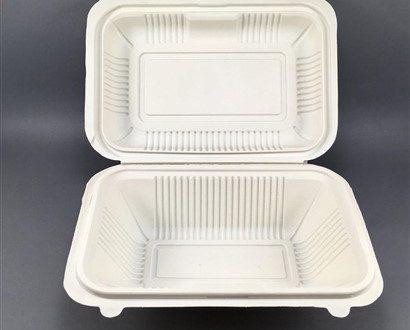 ظروف یکبار مصرف گیاهی تولید