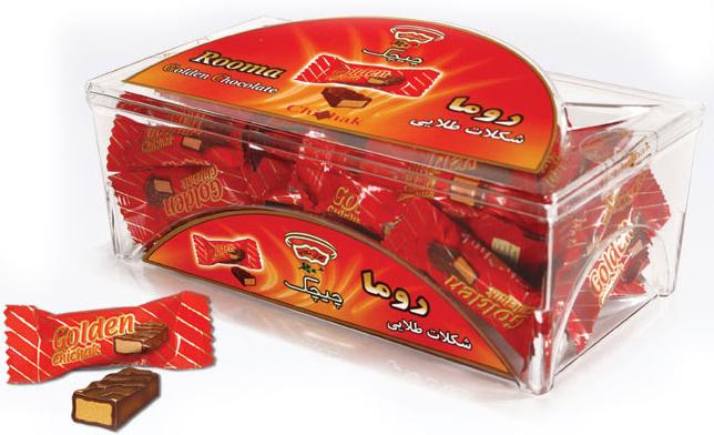 ظروف طلقی بسته بندی شکلات