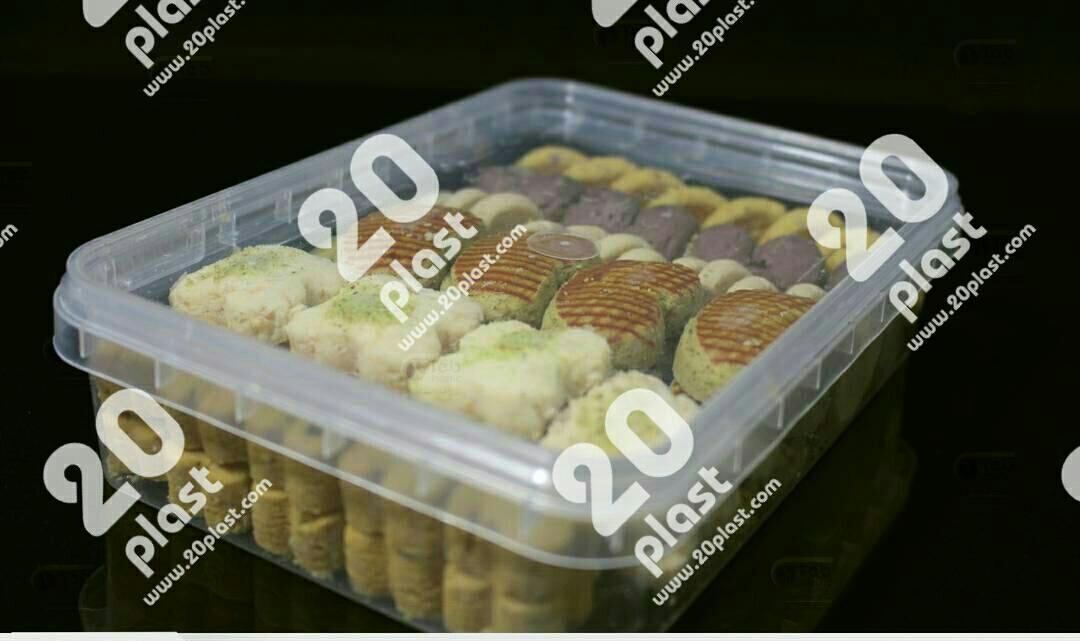 ظروف کریستالی بسته بندی شیرینی