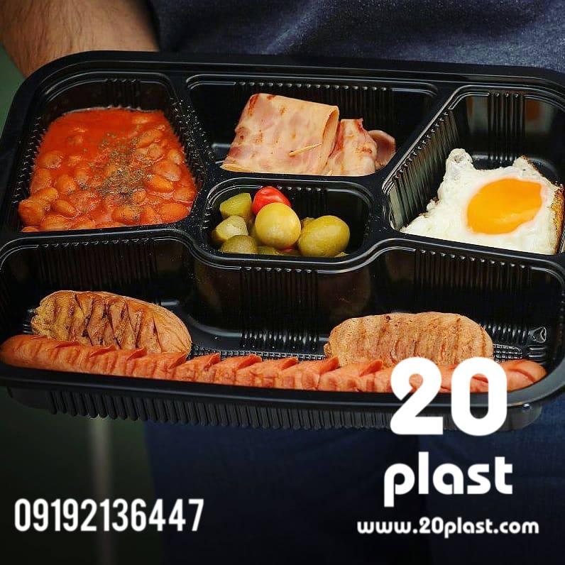 ظروف یکبار مصرف صبحانه
