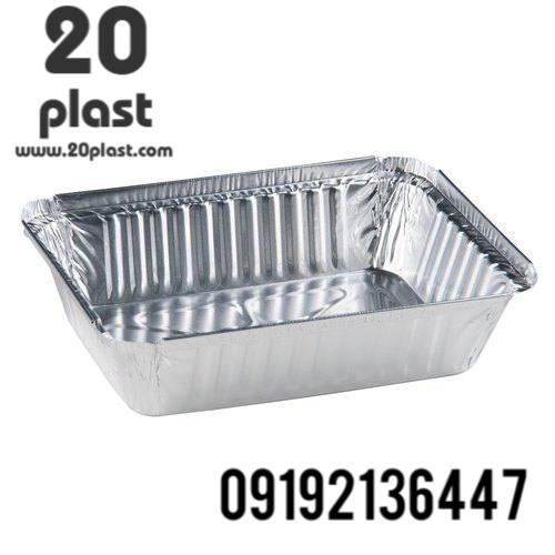 ظروف آلومینیوم غذا تکپرسی با کد ۱۰۵