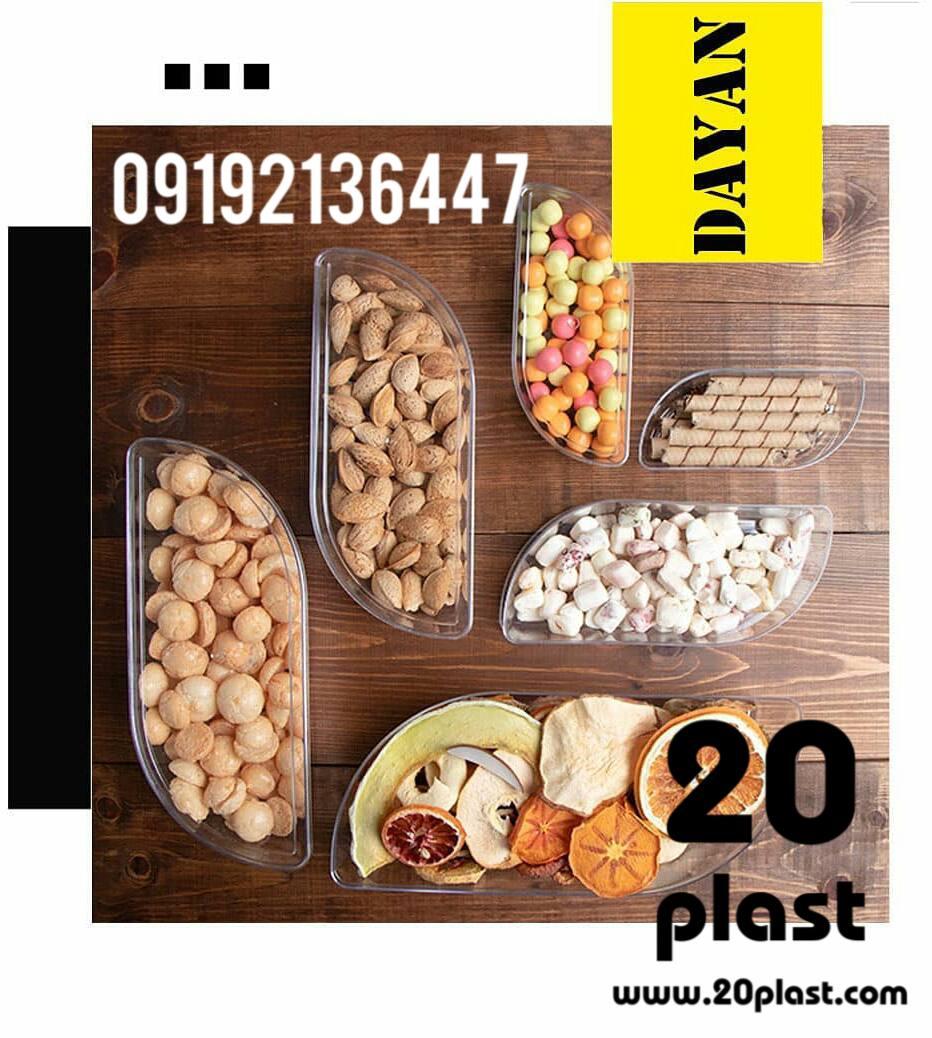 مصارف مختلف ظروف یکبار مصرف کریستالی