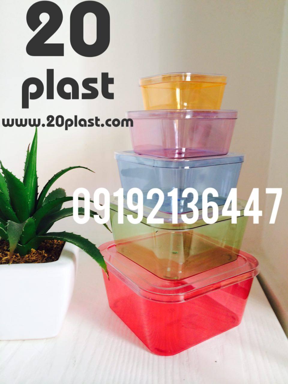 تولید کننده ظروف یکبار مصرف کریستالی