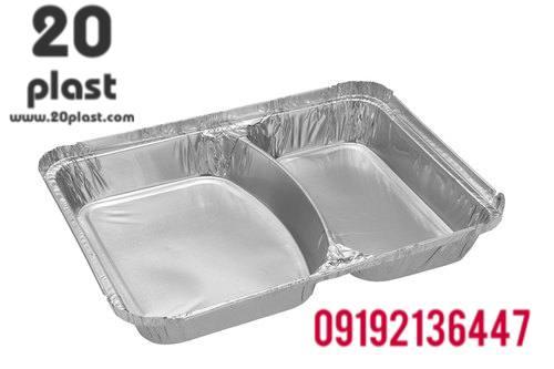 ظرف یکبار مصرف آلومینیومی در دار باکیفیت