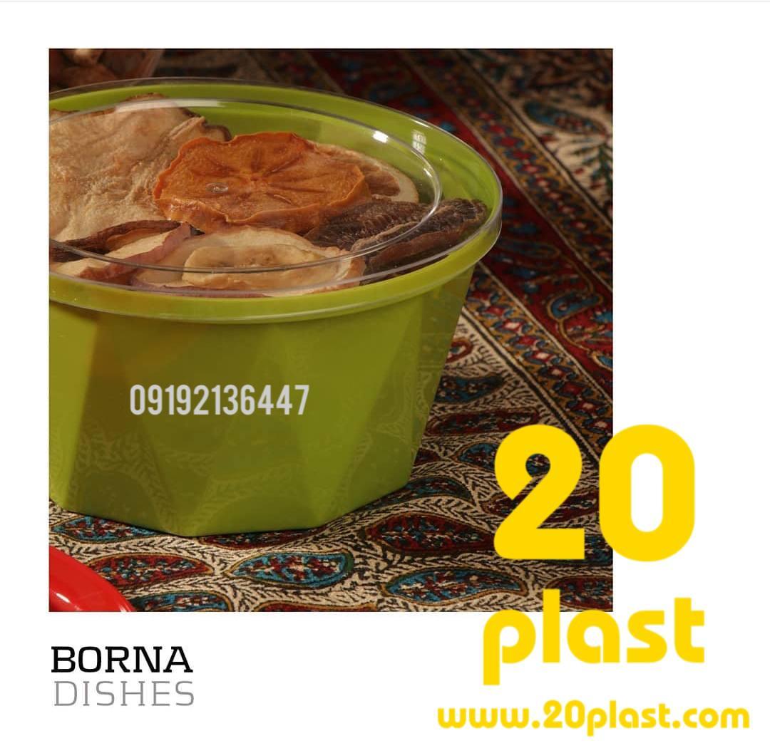 فروش ظروف یکبار مصرف بسته بندی جدید