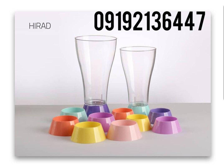 لیوان یکبار مصرف با طراحی خاص