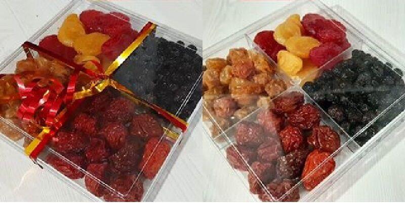 ظروف کریستال پلاستیکی چندخانه